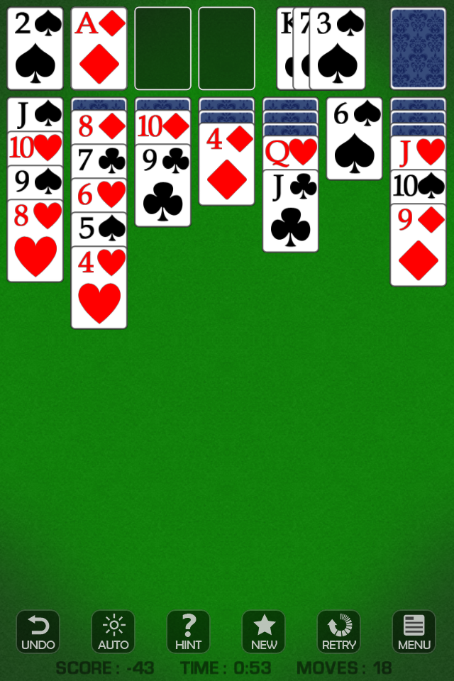 Screenshot ♦ Solitaire Free